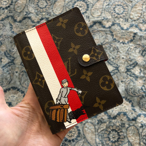 Authentic LOUIS VUITTON Grooms Small Pm Agenda