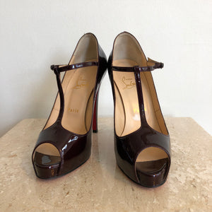 Authentic CHRISTIAN LOUBOUTIN Mary Jane Patent 8