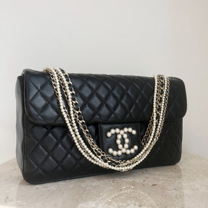 ed64fd950181fd Authentic CHANEL Westminster Pearl Medium Flap Bag – Valamode