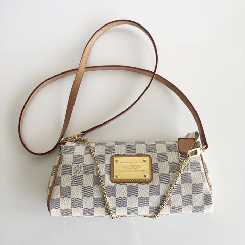 Authentic LOUIS VUITTON Eva Azur