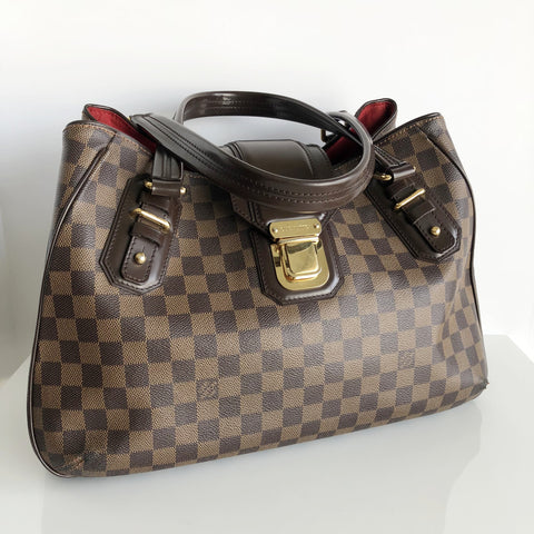 Authentic LOUIS VUITTON Griet Damier Ebene Handbag