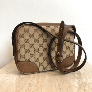 9a281e1f2 Authentic GUCcI Bree Messenger Crossbody – Valamode