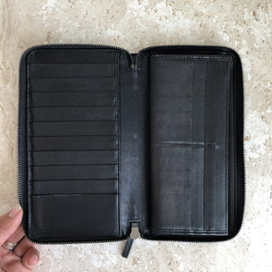 Authentic GUCCI Black Leather Guccissima Wallet