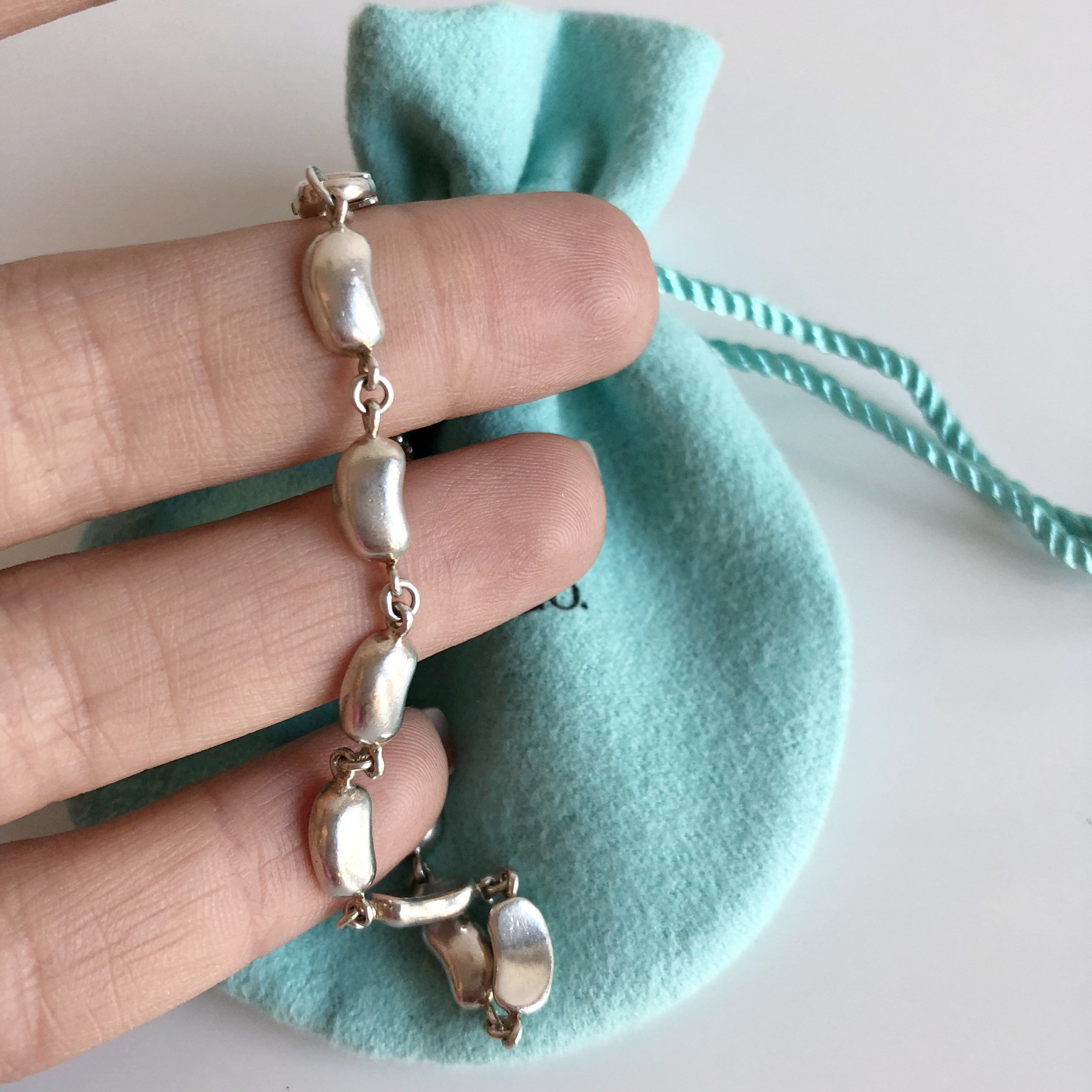 Authentic TIFFANY & CO Small Bean Bracelet