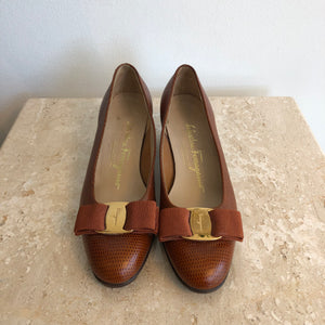 Authentic SALVATORE FERRAGAMO Ballet Flats Size 4.5