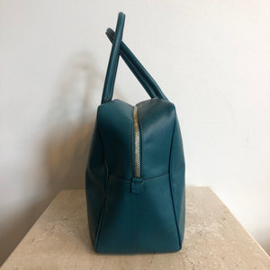 Authentic PRADA Saffiano Teal Handbag