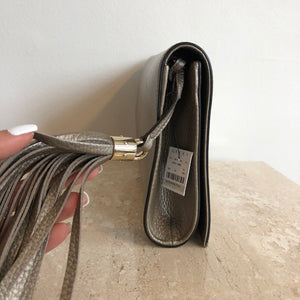 Authentic GUCCI Soho Metallic Clutch