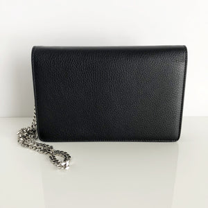 Authentic GIVENCHY Black Leather WOC