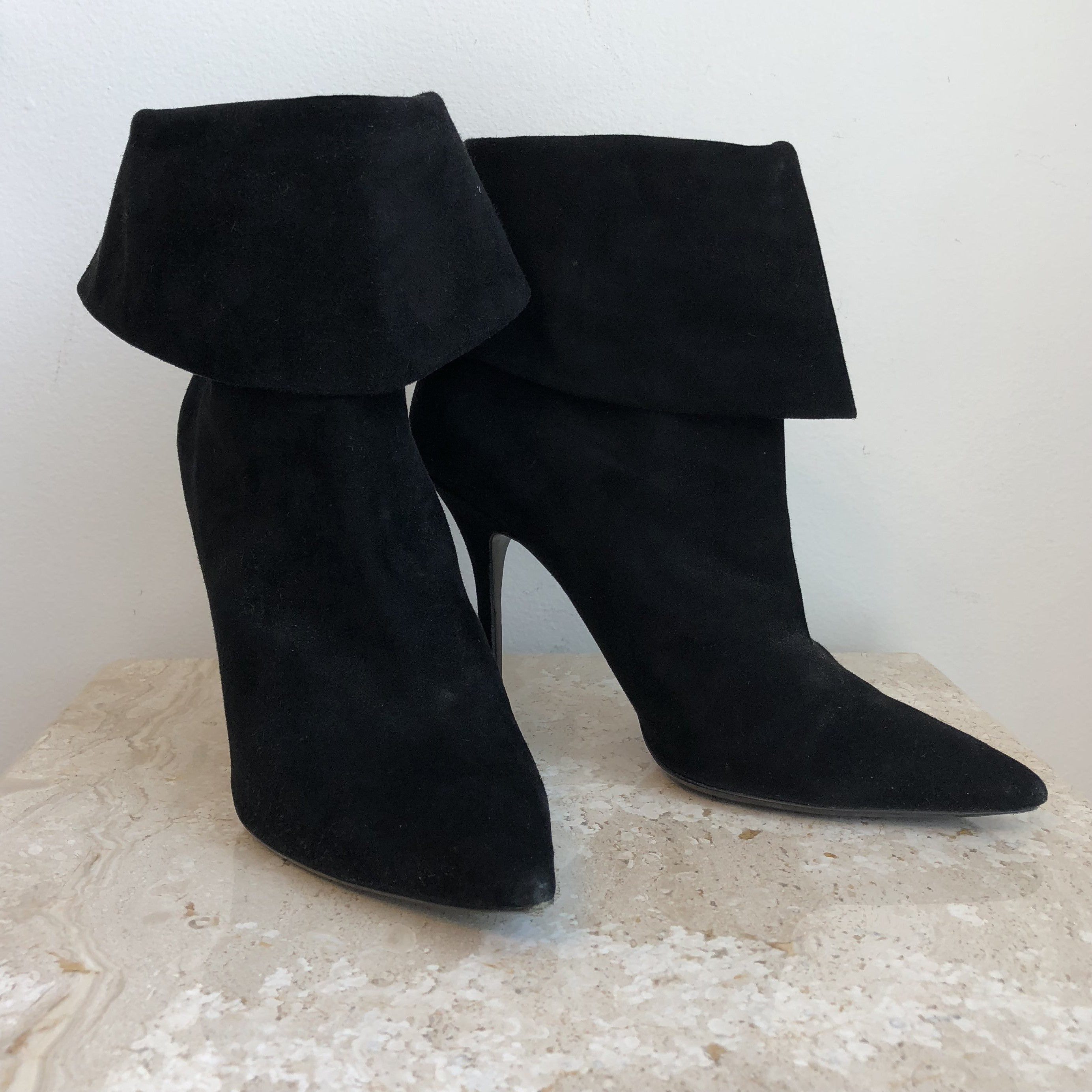 Authentic CHRISTIAN DIOR Suede Ankle Boots