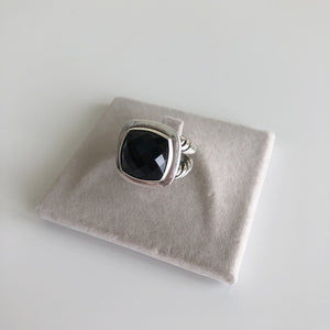 Authentic DAVID YURMAN 14mm Albion Onyx Ring