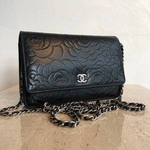 Authentic CHANEL Camilla Wallet On Chain
