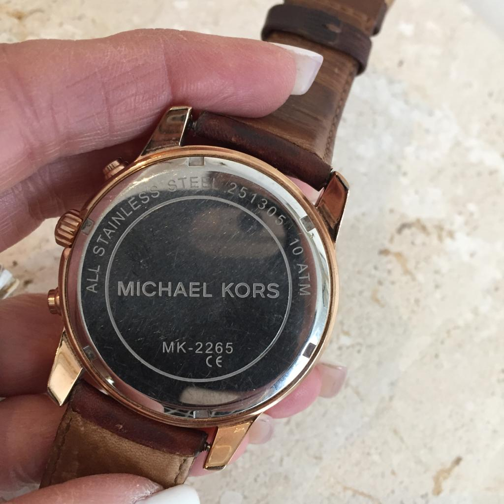Authentic MICHAEL KORS Stainless Steel Mens Watch