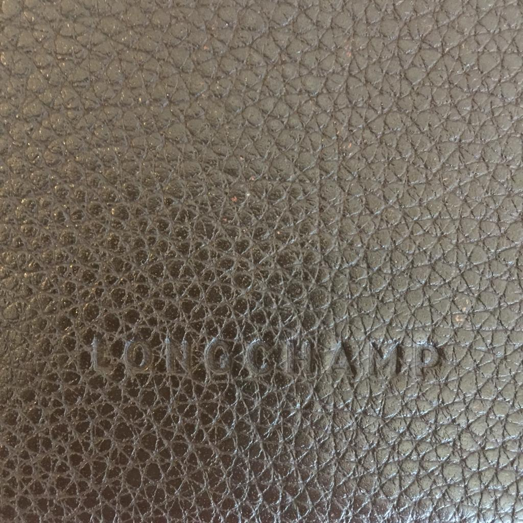 Authentic LONGCHAMP Brown Leather Wallet