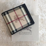 Authentic BURBERRY Mens Haymarket Wallet