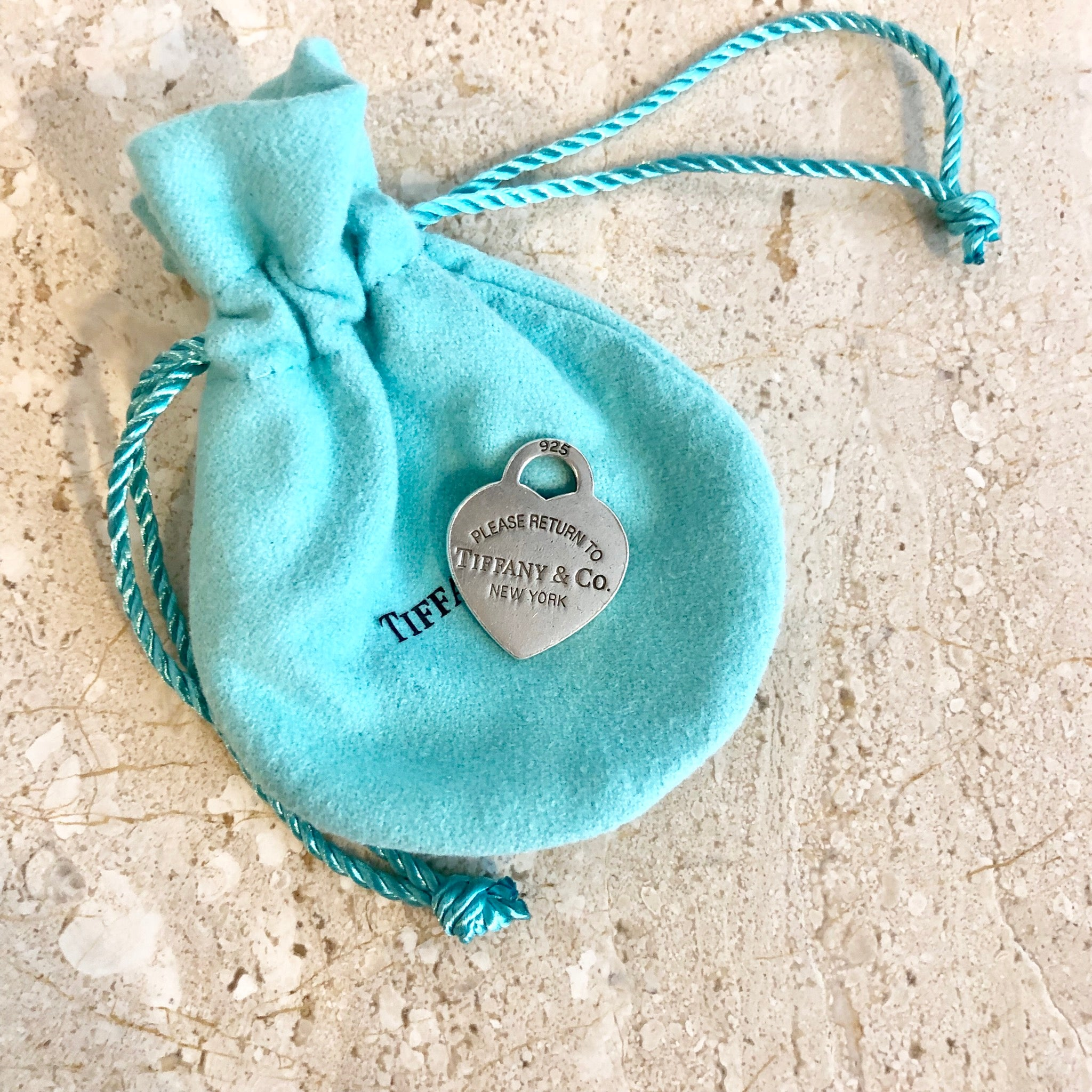 Authentic TIFFANY & CO. Heart Tag Charm