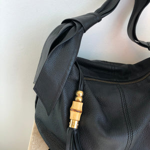 Authentic GUCCI Jungle Bamboo Hobo Handbag