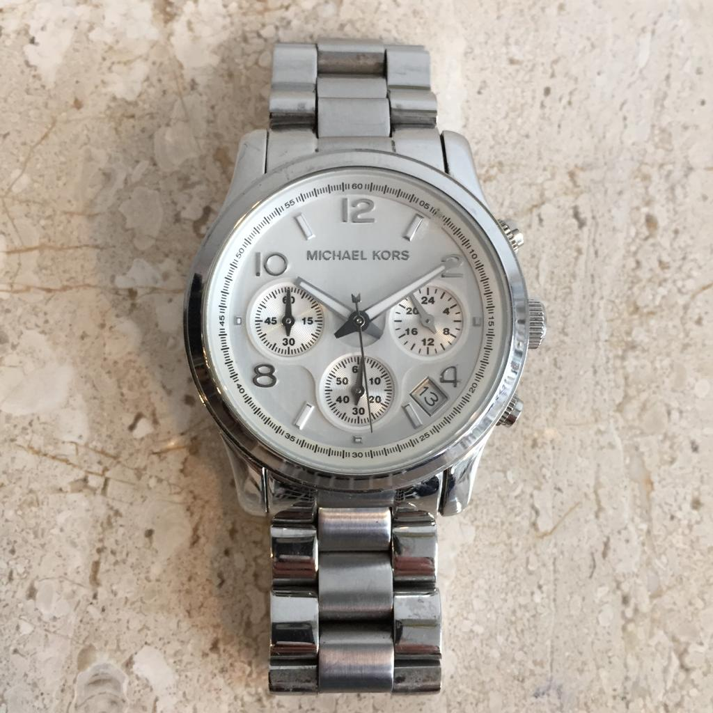Authentic MICHAEL KORS Unisex Stainless Steel Watch