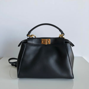 Authentic FENDI Mini Napa Peekaboo