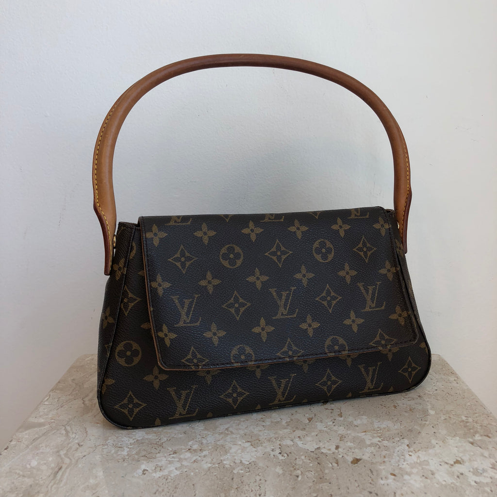 Authentic LOUIS VUITTON Looping PM Handbag