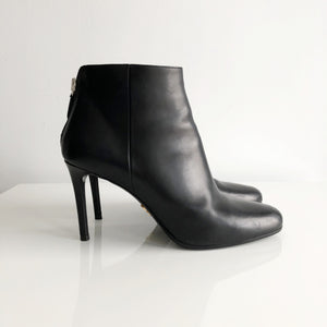 Authentic PRADA Black Booties Size 7.5