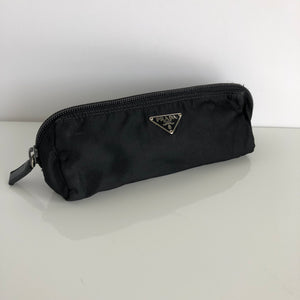 Authentic Prada Black Nylon Pouch