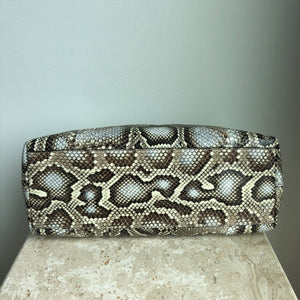 Authentic GUCCI Python Shoulder Bag