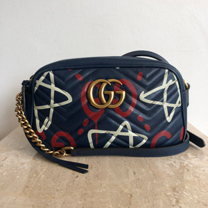 Authentic GUCCI Marmont Graffiti