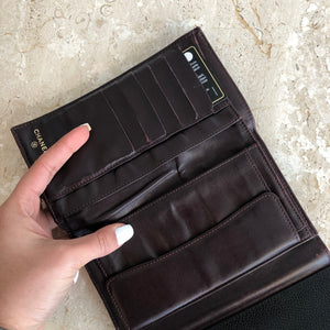 Authentic CHANEL Black Caviar Wallet