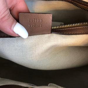 Authentic GUCCI Leather Marmont Tote