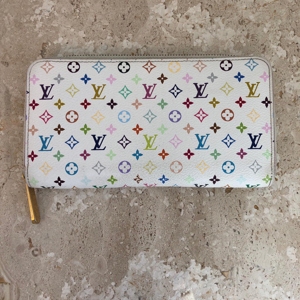 Authentic LOUIS VUITTON Multicolor Zippy Wallet