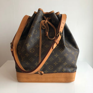 Authentic LOUIS VUITTON Vintage Monogram Noe GM