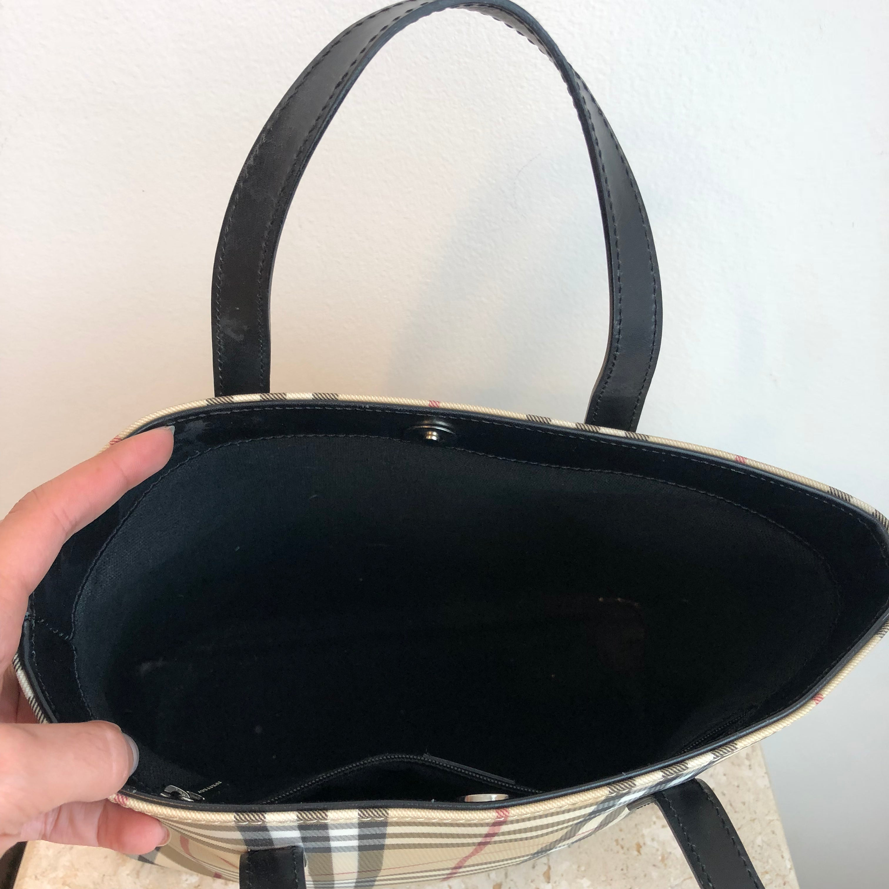 Authentic BURBERRY Novacheck Tote
