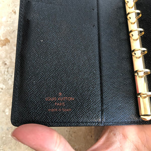 Authentic LOUIS VUITTON Agenda Epi PM