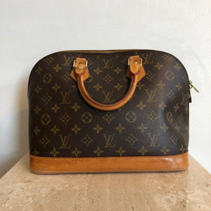 Authentic LOUIS VUITTON Monogram Alma PM #2