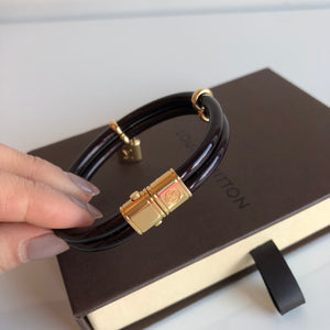 Authentic LOUIS VUITTON Lockit Bracelet