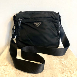 Authentic PRADA Nylon Messenger Crossbody #1