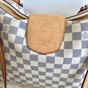 Authentic LOUIS VUITTON Damier Azur Stresa PM Bag