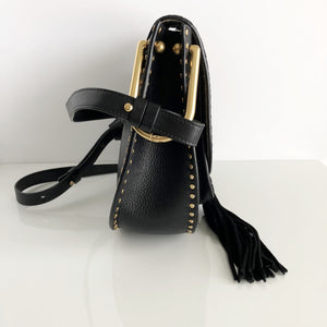 Authentic CHLOE Black Calfskin Hudson Bag