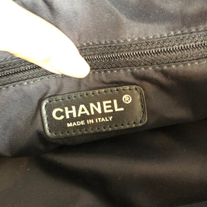 Authentic CHANEL Logo Handbag