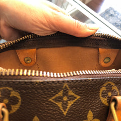 Authentic LOUIS VUITTON Speedy Monogram 25