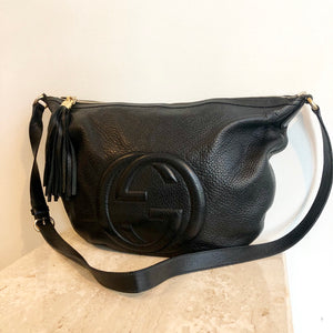 Last payment Authentic GUCCI Half Moon Crossbody