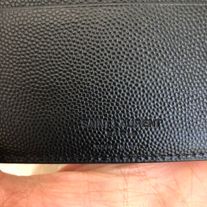 Authentic SAINT LAURENT Paris East/West Wallet