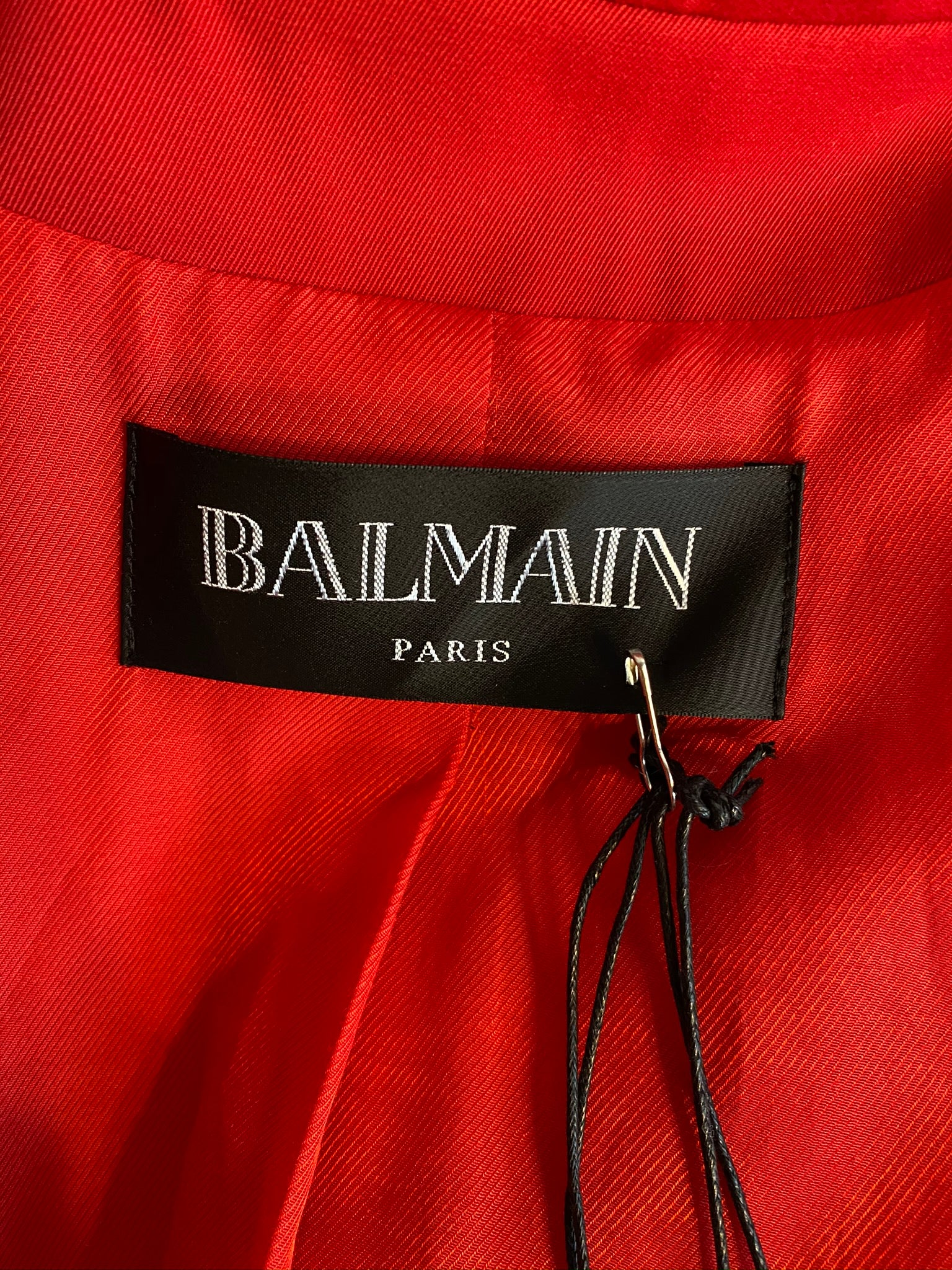 Authentic BALMAIN Red Jacket - 40(8)