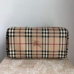 Authentic BURBERRY Haymarket Chester Bag