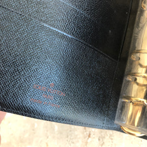 Authentic Louis Vuitton Epi Agenda MM