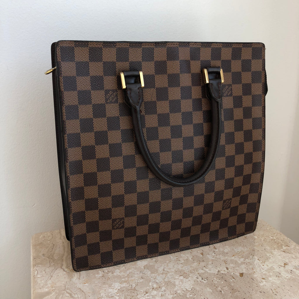 Authentic LOUIS VUITTON Vintage Damier Sac Flat