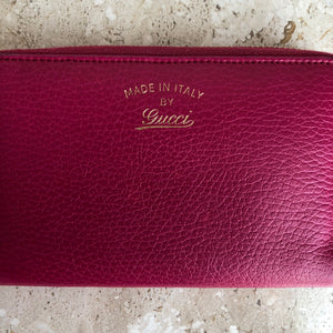 Authentic GUCCI Swing Wallet Hot Pink
