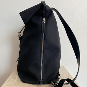 Authentic GUCCI Techno Canvas Web Backpack