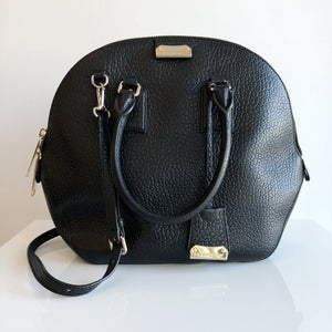 Authentic BURBERRY Orchard Black Leather Handbag
