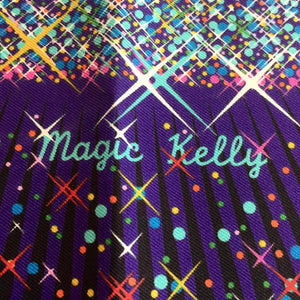 "Authentic HERMES 100% silk ""Magic Kelly"" Small Scarf"